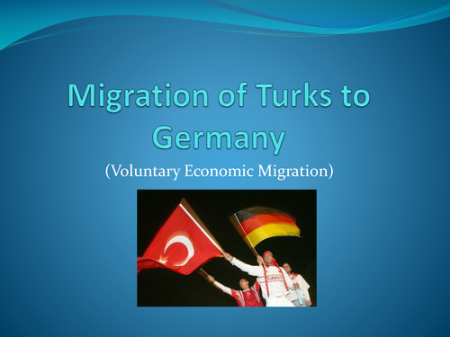 Migration of Turks to Germany