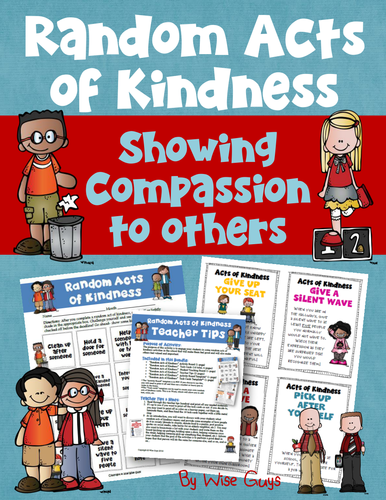 500 word essay on acts of kindness