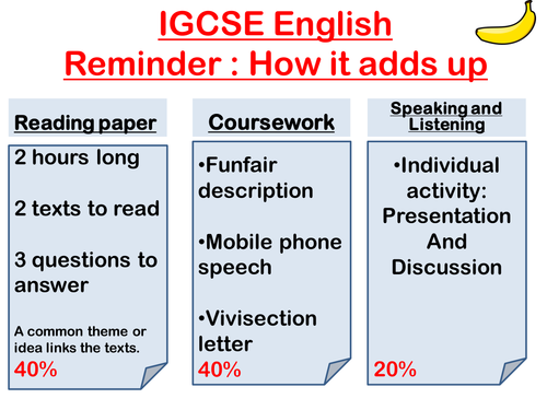I'm doing CIE IGCSE English - what is the A* mark?