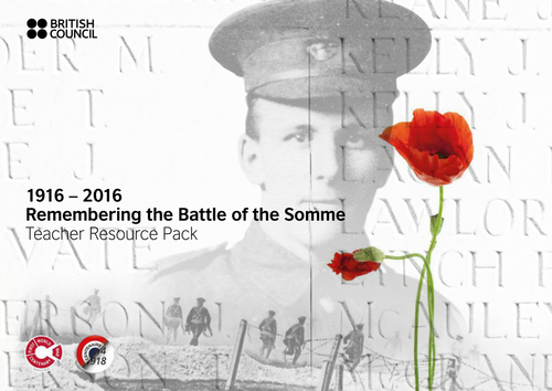 1916 - 2016  Remembering the Battle of the Somme