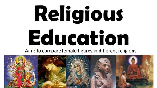 KS2: Female Figures in Religion (1 Lesson Pack)