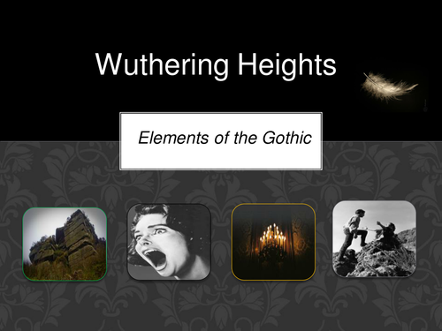 Gothic features in Wuthering Heights - preview