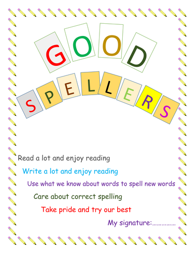 Spelling Homework Book