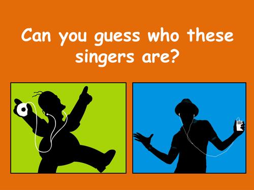 Form time activity - Celebrity quiz 2