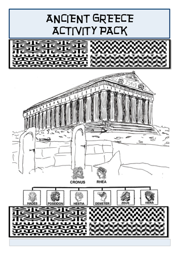 ancient greece activity pack by homeros3 teaching resources tes