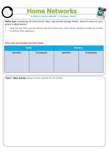 Edexcel GCSE ICT Teaching Block Three Worksheets