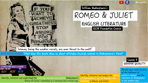 Romeo and Juliet Structure for GCSE.?