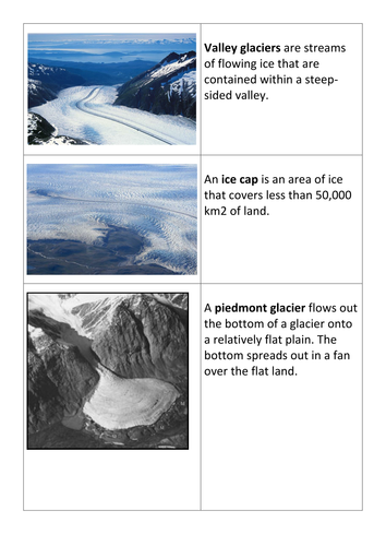 lesson 4 what is a glacier and how do they move as cold as ice by elizabethkas teaching. Black Bedroom Furniture Sets. Home Design Ideas
