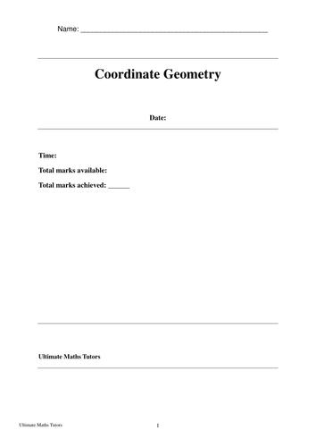 Core 2 (C2) Coordinate Geometry