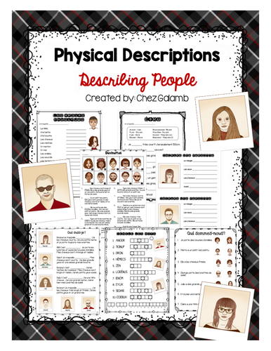 Describing People - French Unit