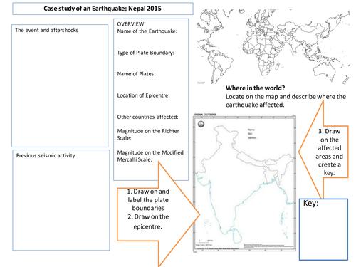 AQA A2 Case Study Nepal Earthquake Overview