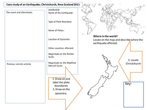 AQA A2 Case Study Christchurch Earthquake Overview