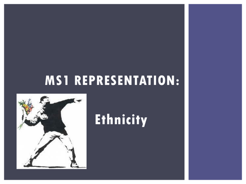 Representation of Ethnicity