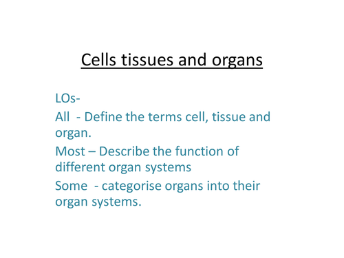 Cells, Tissues and Organs.