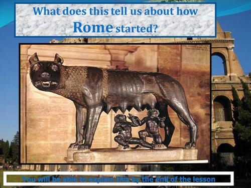 Romans Romulus and Remus