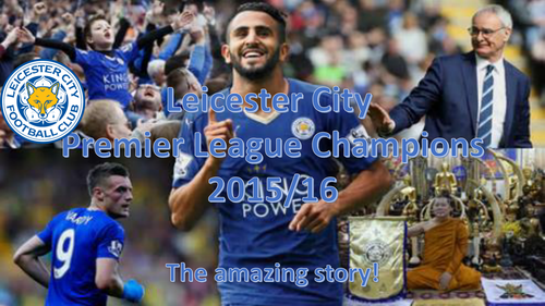 Leicester City Champions - Presentation