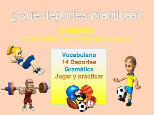 el deporte ks3 spanish resources by anamolina90 teaching resources. Black Bedroom Furniture Sets. Home Design Ideas