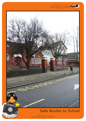 Safe Routes to School Photopack and Teachers' Notes