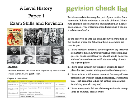 Edexcel Route F In Search of the American Dream Revision Guide
