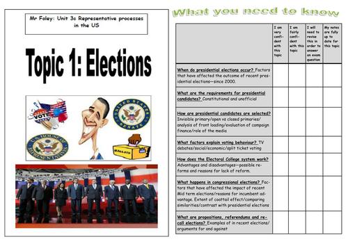 US Elections Workbooklet