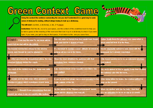 Tiger Reading & Literacy-  3 differentiated board games!