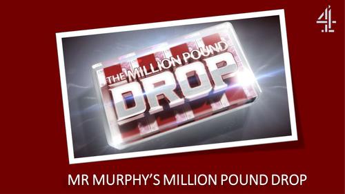 Million Pound Drop Game (Quiz)
