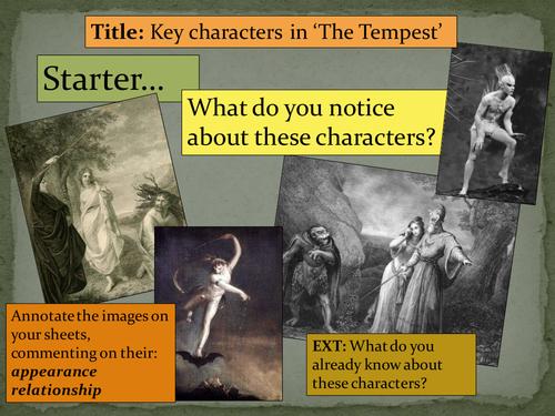 KS3: The Tempest - William Shakespeare (lesson 1 - 6)