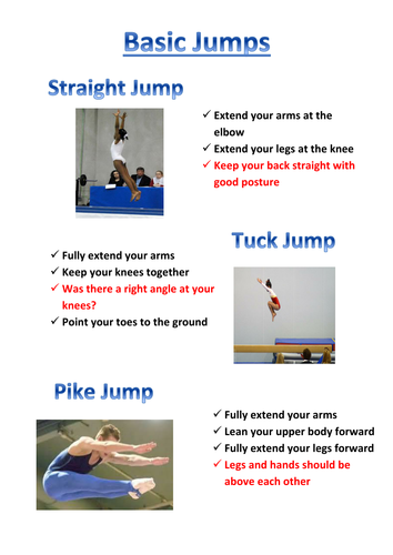 Basic Jumps