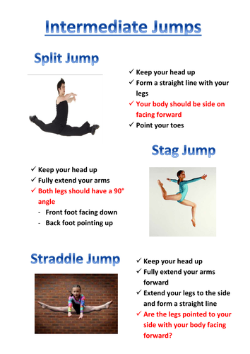 Intermediate Jumps