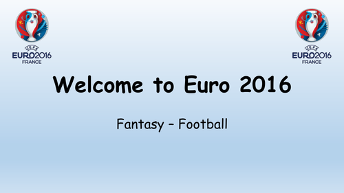 Euro 2016 Fantasy Football