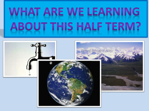 The Water Cycle KS3 and KS4 introductory lesson