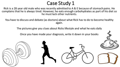 Nutrition and Health case studies