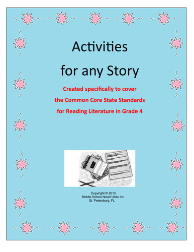 Activities for Any Story Grade 4