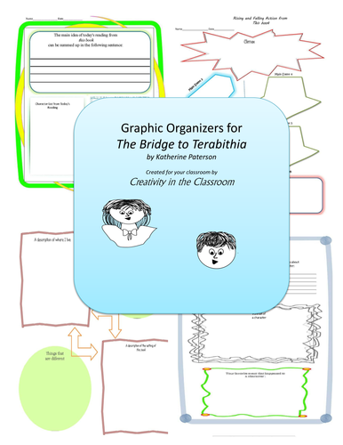 Graphic Organizers for Bridge to Terabithia