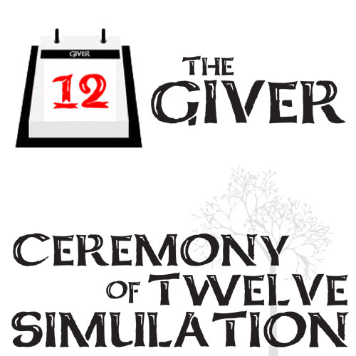 GIVER Ceremony of 12 Activity