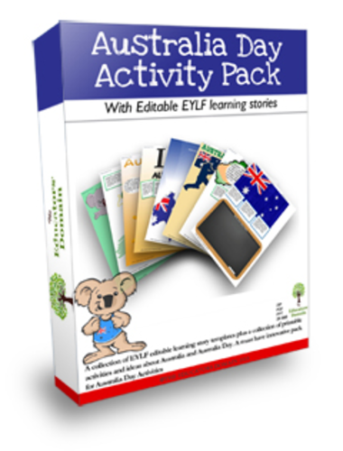 Australia Day Activities and Editable Story Pages