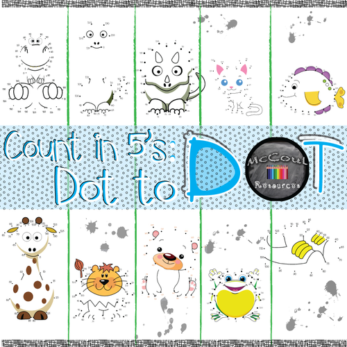 Count in 5s Dot to Dot by jmcmeekin - Teaching Resources - Tes