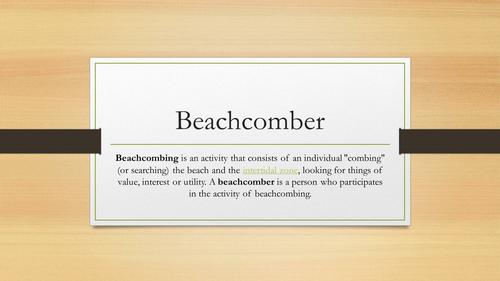 Duffy's 'Beachcomber' analysis for new AQA ALevel English Language and Literature