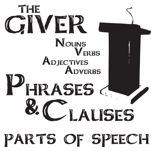 GIVER Phrases and Clauses (Noun, Verb, Adjective, Adverb)