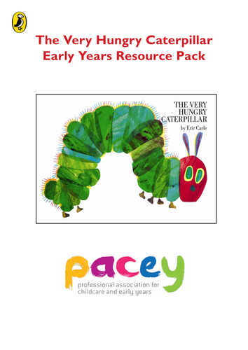 The Very Hungry Caterpillar Early Years Resource Pack