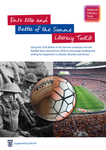 Euro 2016 and Battle of the Somme Literacy Toolkit