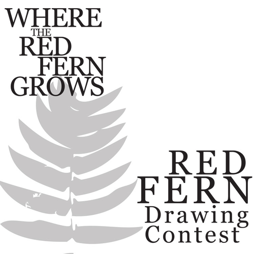 WHERE THE RED FERN GROWS Red Fern Art Activity