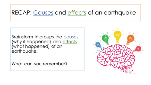 Causes of Tsunami