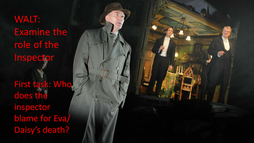 PPT to examine the role of the Inspector in An Inspector Calls