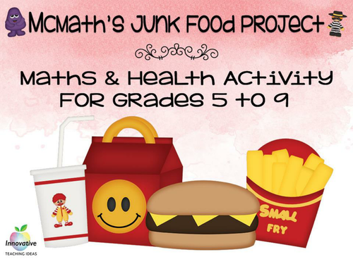 Math Fast Food Project: Understanding Nutritional Values and Food Statistics