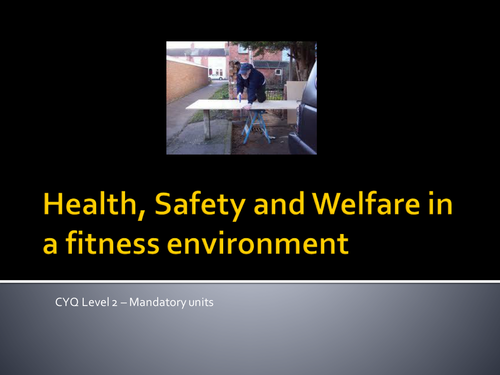 Health, Safety and Employer Rights & Responsibilities