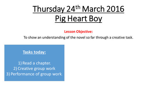 Pig Heart Boy SOW
