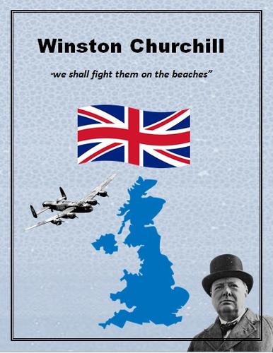 "Winston Churchill speech World War II ""We shall fight them on the beaches"""