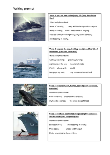 Poetry - Blue Whale poem