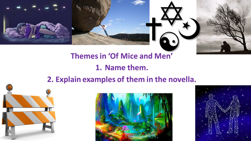 Of Mice and Men GCSE Revision
